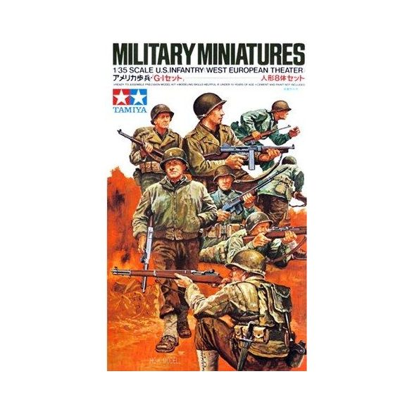 Tamiya 35048  US Infantry West European Theater