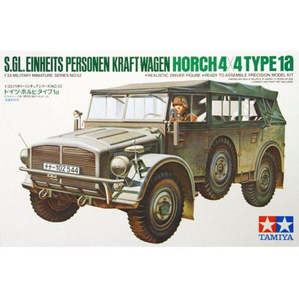 Tamiya 35052 S.Gl. Einheits Personen Kraft-Wagen Horch 4x4 Type 1a
