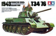 Tamiya 35059  Russian Tank T-34/76