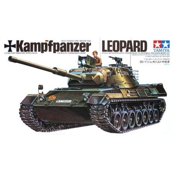 Tamiya 35064  West German Army Medium Tank Kampfpanzer Leopard