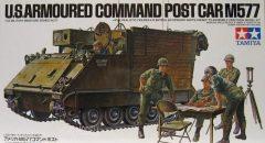 Tamiya 35071 US Armoured Command Post Car M577