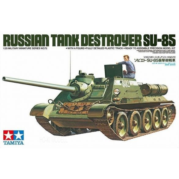 Tamiya 35072  Russian Tank Destroyer SU-85