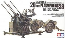 Tamiya 35091  German 20mm Flakvierking