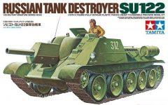 Tamiya 35093 Russian Tank Destroyer SU-122