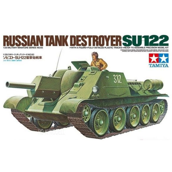 Tamiya 35093 Russian Tank Destroyer SU-122