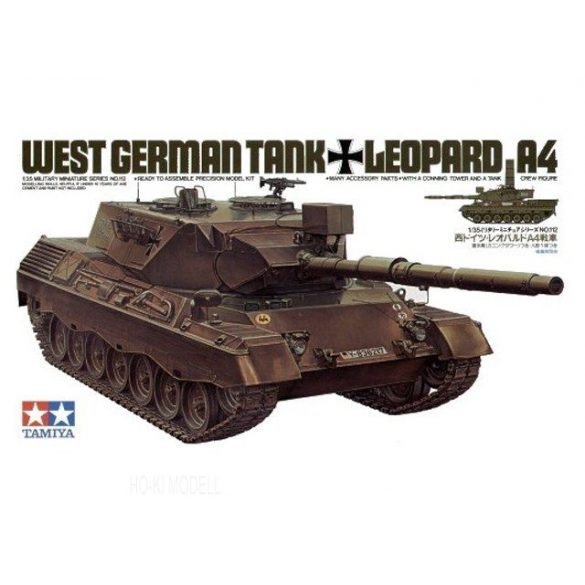 Tamiya 35112  West German Tank Leopard A4