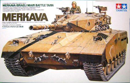 Tamiya 35127  Israeli Merkava Main Battle tank