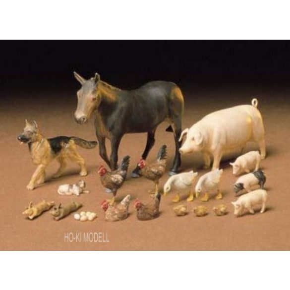 Tamiya 35128  Livestock Set