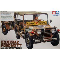 Tamiya 35130 U.S. M151A2 Ford Mutt & Cargo Trailer