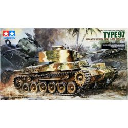 Tamiya 35137 Japanese Medium Tank Type 97 (Late Version)