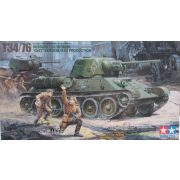 "Tamiya 35149 Russian T34/76 ""ChTZ"" version 1943"