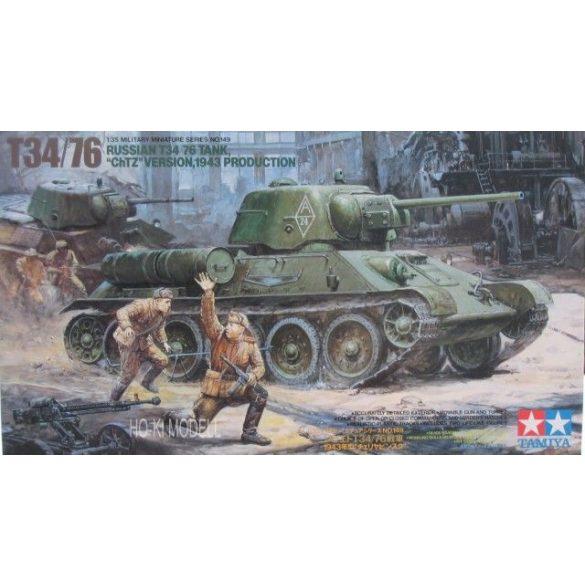 "Tamiya 35149 Russian T34/76 ""ChTZ"" version 1943"