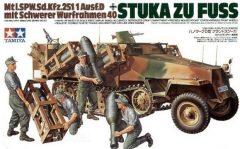 Tamiya 3515 German Sd Kfz 251/1 Stuka Zu Fuss