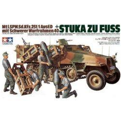 Tamiya 35151 German Sd Kfz 251/1 Stuka Zu Fuss1