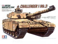 Tamiya British main battle tank Challenger 1 Mk.3