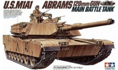 Tamiya 35156  U.S. M1A1 Abrams 120mm Gun Main Battle Tank