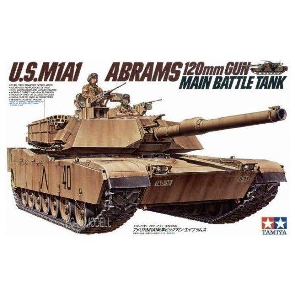 Tamiya 35156  U.S. M1A1 Abrams 120mm Gun Main Battle Tank