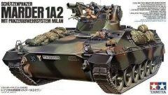 Tamiya 35162 Schützenpanzer MARDER 1A2 mit Panzerabwehrsystem Milan