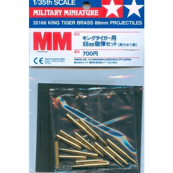 Tamiya 35166 King Tiger 88mm-es Lövedékek
