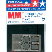 Tamiya 35167 German King Tiger Photo Etched Grille Set