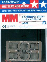 Tamiya 35167 German King Tiger Photo Etched Grille Set
