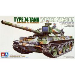 Tamiya 35168 JGSDF Japanese Type 74 Tank Winter Version