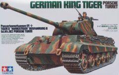 Tamiya 35169  Sd.Kfz.182 Pz.Kpfw.VI Tiger II Ausf.B King Tiger Porsche Turret