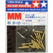 Tamiya 35182 Tiger I 88mm Brass Projectiles