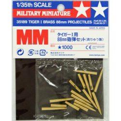 Tamiya 35182 Tiger I 88mm Brass Projectiles