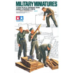 Tamiya 35188 German Tank Ammo-Loading Crew Set