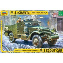 Zvezda 3519 M3 Scout Armored Car