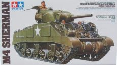 Tamiya M4 Sherman US Medium Tank Early Production