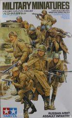 Tamiya 35207  Russian Army Assult Infantry