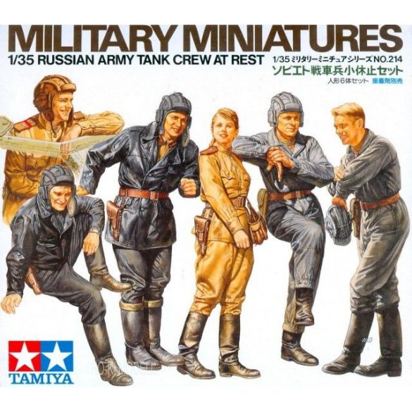 Tamiya 35214  Russian Army Tank Crew at Rest