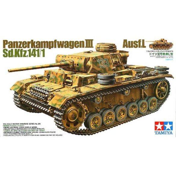 Tamiya 35215  Panzerkampfwagen III Ausf.L  Sd.Kfz. 141/1