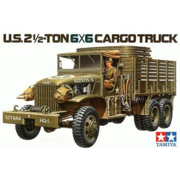 Tamiya 35218  U.S. 2,5 Ton 6X6 Cargo Truck