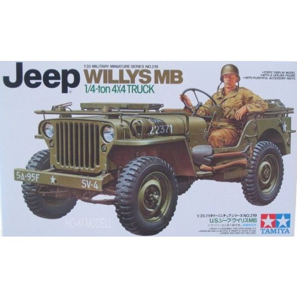 Tamiya 35219  Willys MB Jeep