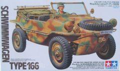 Tamiya 35224  Pkw.K2s Schwimmwagen Typ 166