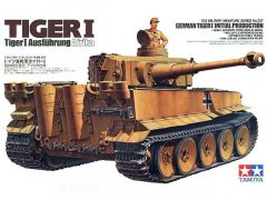 Tamiya German Tiger I Initial Production Ausführung Afrika