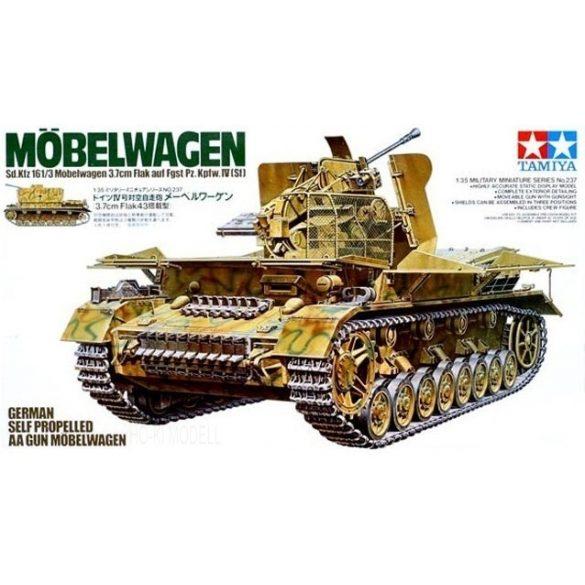 Tamiya 35237 German Self Propelled AA Gun Möbelwagen