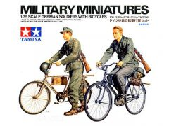 Tamiya German Soldiers with Bicycles