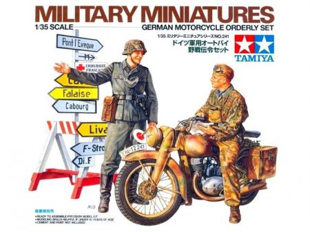 Tamiya 35241  German Motorcycle Orderly
