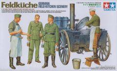 Tamiya 35247 WWII German Field Kitchen Scenery - Tábori Konyha