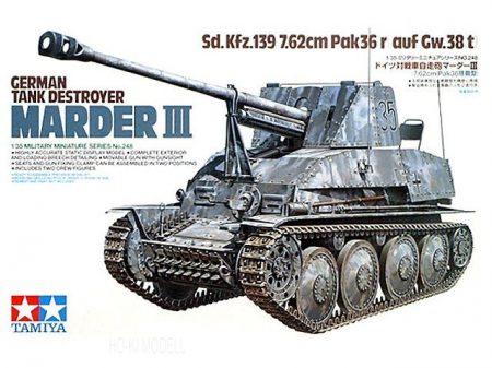Tamiya 35248  German Tank Destroyer Marder III
