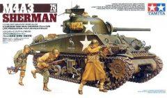 Tamiya M4A3 Sherman 75mm Gun