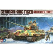 Tamiya 35252 German Tiger II -  King Tiger - Ardennes Front w/ Motorcycle &Rider
