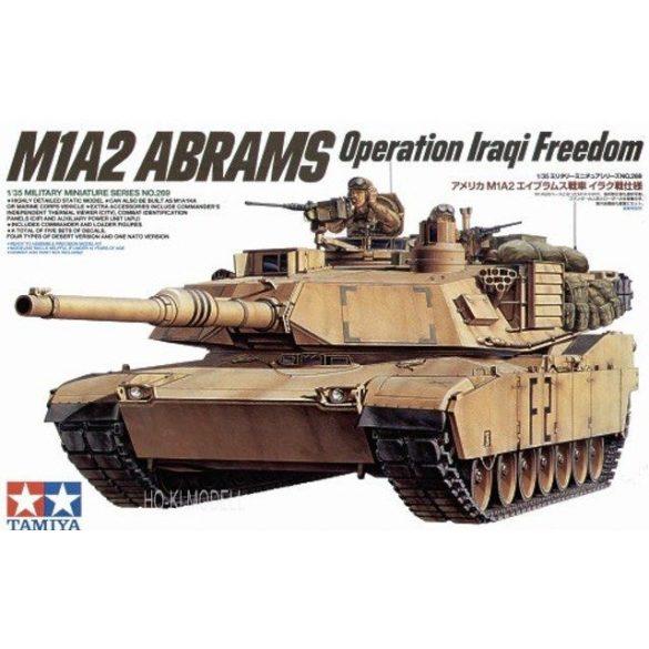 Tamiya 35269  M1A2 Abrams Operation Iraqi Freedom