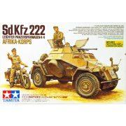 Tamiya 35286 Sd.Kfz.222 Leichter Panzerspahwagen 4x4 Afrika Korps