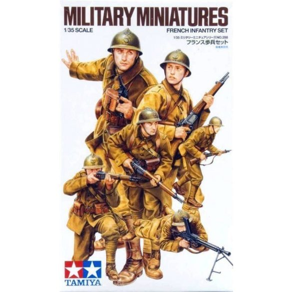 Tamiya 35288 WWII French Infantry Set