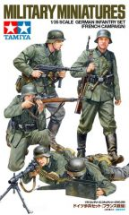 Tamiya 35293 German Infantry Set French Campaign